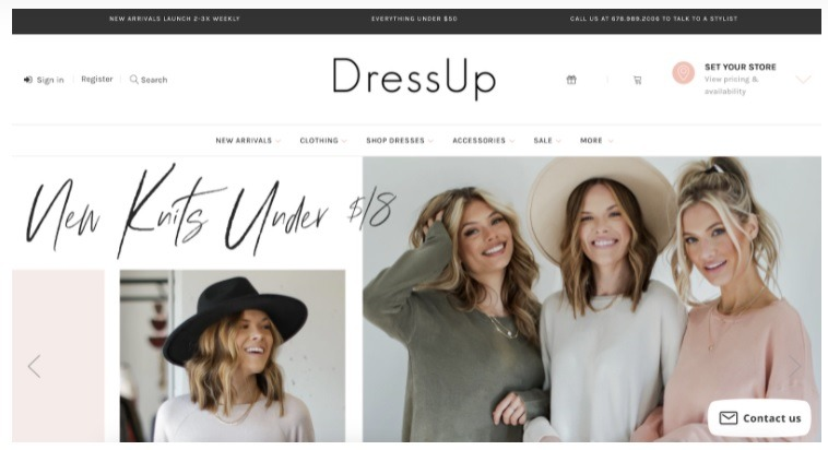 eCommerce stores that offer offline pickup